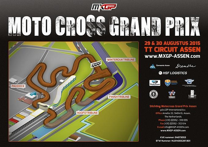 Persbericht MXGP WK Motorcross 2015 TT-Circuit Assen