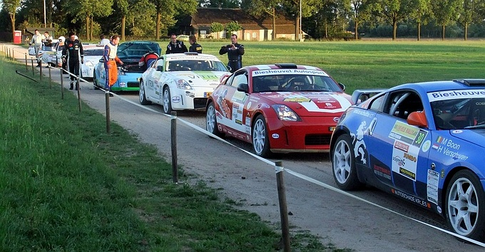 54e ELE Rally Start in Lierop - Routekaart Circuit