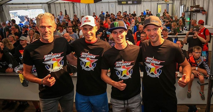 Team België MX of Nations Assen 2019