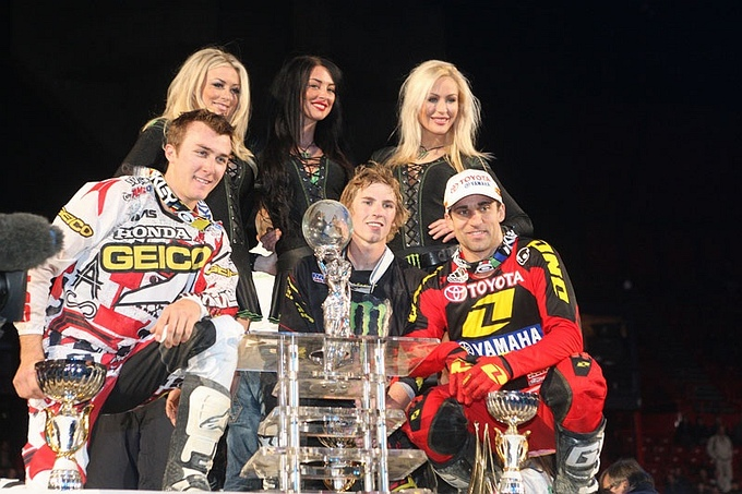 Monster Energy Kawasaki Motocrosser Jake Weimer de nieuwe King of Bercy 2012